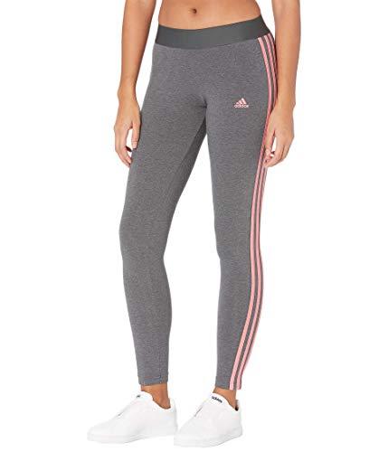 adidas Originals Legging pour Femme, Femme, Collants, 28881, Gris foncé chiné/Rose Hazy, m