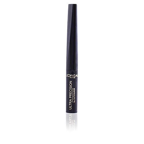 L'Oréal Paris Super Liner Ultra Precision Eyeliner in Schwarz, Flüssig-Eyeliner mit weicher und...