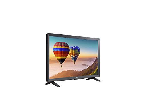 LG Electronics Smart TV 24TN520S 24 Zoll Monitor - LED, HD Display, Wandhalterung, 5W x 2 Stereo-Lautsprecher, WebOS 3.5 Smart TV, integriertes WLAN, Energieklasse A, schwarz (Modell 2020)