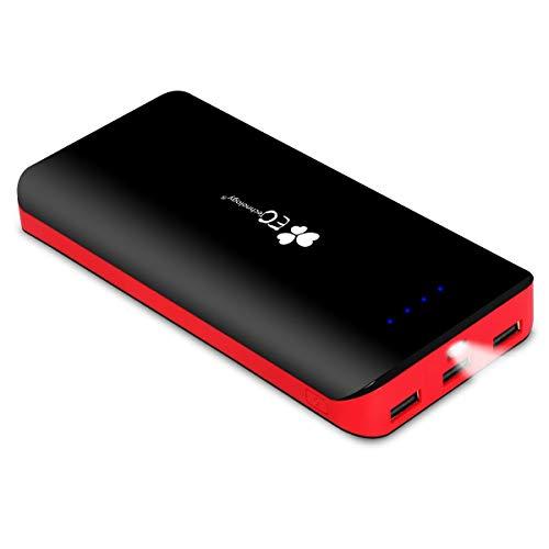 EC Technology 22400mAh Power Bank Ultra High Capacity External Battery 3 USB...