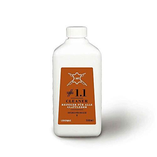 Ledermax - Cleaner #1.1 - Intensiver Reiniger für alle Glattleder und Alcantara, ml:500ml