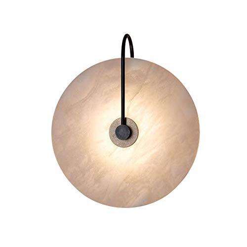 Apliques de pared Lámpara De Pared Lámpara De Pared Decorativa De Mármol Nórdico, Adecuada for Sala De Estar, Dormitorio, Cocina, Accesorio De Iluminación LED [Clase Energética A ++]