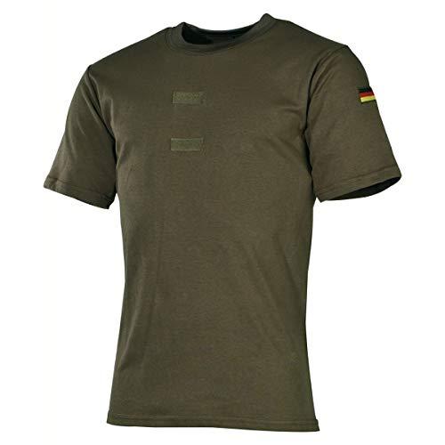 MFH BW Tropenhemd mit Klett und Hoheitsabzeichen (Oliv, 7)
