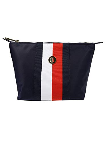 Tommy Hilfiger Poppy AW0AW100530GY - Neceser para mujer, color azul