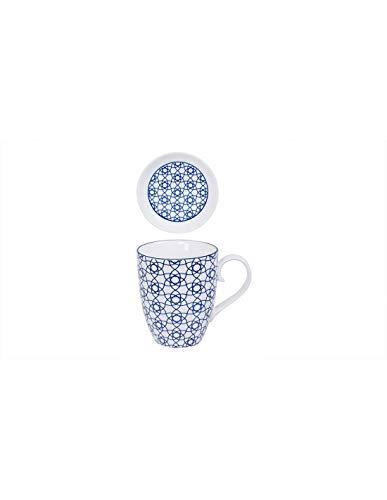 Taza para té de diseño de Porcelana con Filtro y Tapa - Tokyo Design Studio
