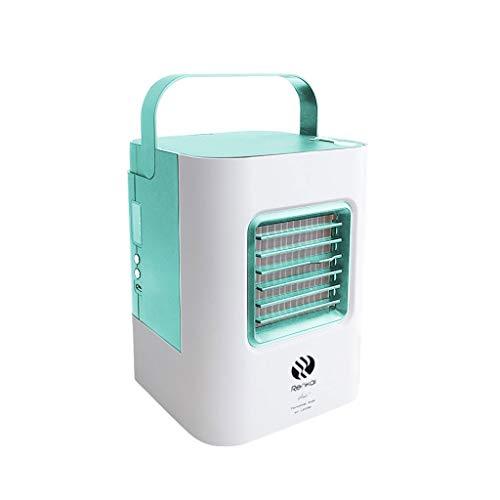 Aire Acondicionado PortáTil Refrigerador Ventilador USB URIBAKY Mini 3 En 1 Personal Aires Acondicionados MóViles Ventilador De Escritorio con 3 Velocidades
