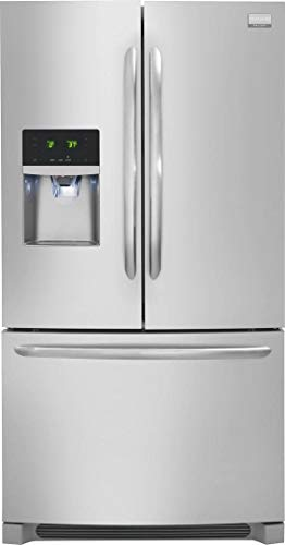 """Frigidaire FGHF2367TF Gallery Series 36"""" Counter Depth French Door Refrigerator with 21.9 cu. ft. Total Capacity, in Stainless Steel"""