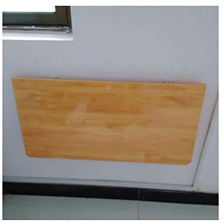 XUENUO Wandklapptisch, Holzklappen Tisch, Klapptisch Stabile Stabile Konstruktion, Wand Schreibtische für kleine Räume,90cm×50cm