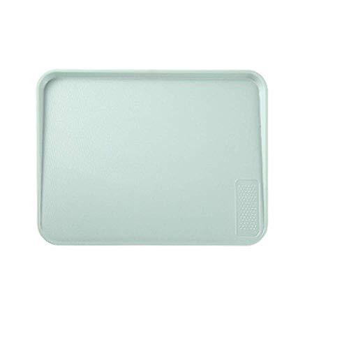 Küche Multifunktionale Verdickt Schneidebrett/Abgeschrägte Obst Schneiden Bord/BPA FREI/Nicht-slip/Einfach Zu Sauber (Rosa/Grün/37,2 × 28,2 × 2 Cm)
