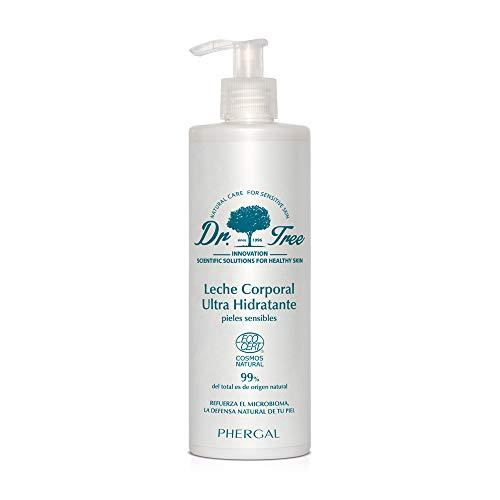 Dr. Tree | Leche Corporal Ultra Hidratante Pieles Sensibles | Hidrata, Calma y Restaura la Barrera Cutánea | Refuerza el Microbioma | 99% Ingredientes Naturales | 500ml