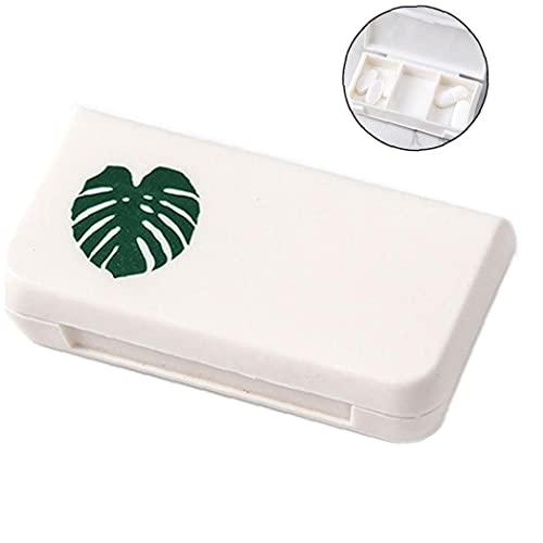 Mini Caja Portátil Cajas De Medicamentos 3 Rejillas del Hogar del Recorrido Drogas Médicas Tableta Recipiente Vacío Caja De Almacenamiento
