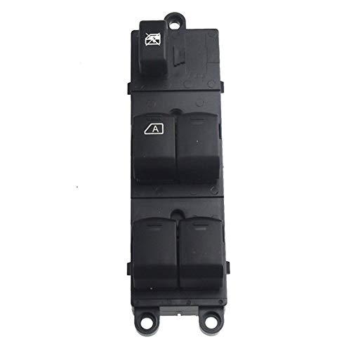 Yuanmei Vorne Links Master-Fensterheber-Schalter gepasst for Nissan Navara D40 Qashqai Pathfinder 04-16 25401-EB30B 25401-JD001