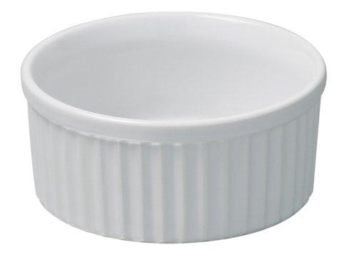 REVOL 615068 - Molde para soufflé, color blanco