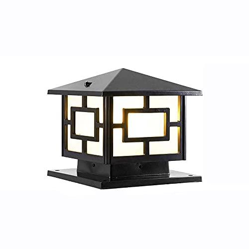 Wand AC Outdoor Post Lights Aluminium Moderne Landschaft E27 Terrasse Post Lampen Helle LED-Licht für Zaun Deck Garten oder Terrassenpfosten