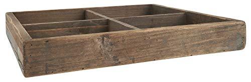 IB Laursen Kiste m/4 Fächer, B: 40 H: 5,5 L: 40