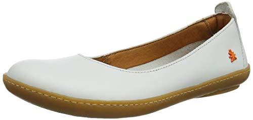 art Damen 1297 Becerro Kio Geschlossene Ballerinas, Weiß (White White), 40 EU