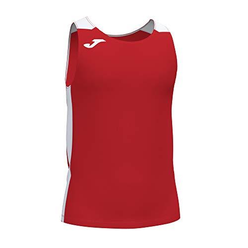 Joma Camiseta Tirantes Record II Rojo Blanco