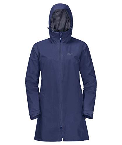 Jack Wolfskin Damen Jwp Mantel-1112271 Mantel, lapiz Blue, L