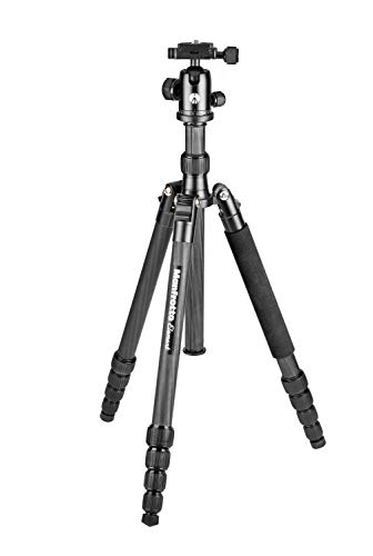 Manfrotto Element Traveller Small Aluminum 5-Section Tripod Kit with Ball Head,...