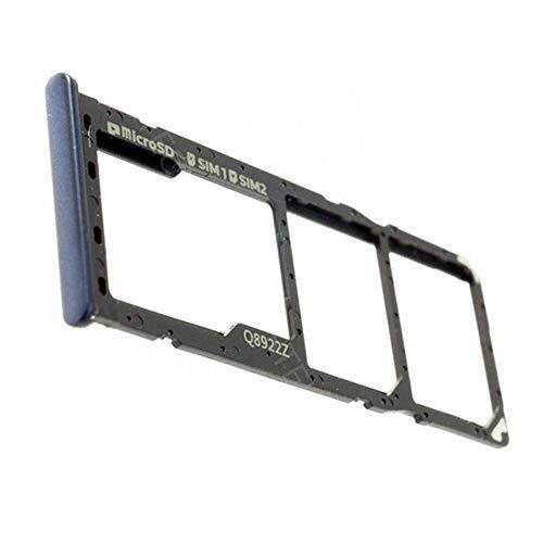 Samsung Galaxy A7 2018 (SM-A750FN/DS) Original Ersatz Dual SIM und SD Kartenhalter, Schwarz