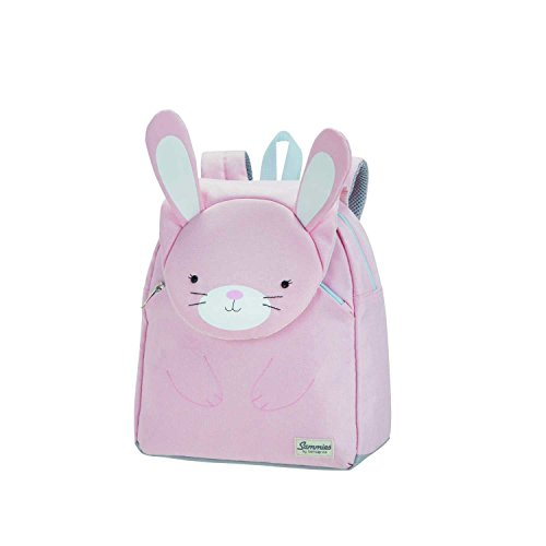 Samsonite Happy Sammies - Kinder-Rucksack S, 28 cm, 7.5 L, Rosa (Rabbit Rosie)