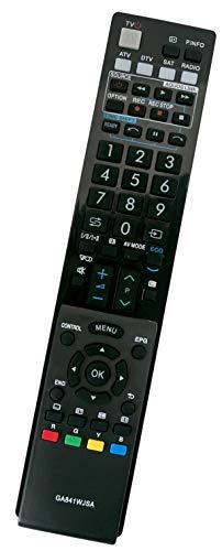 ALLIMITY GA841WJSA Afstandsbediening Vervangen voor Sharp AQUOS LCD LED TV LC-40LE810E LC-40LU822E LC-32LX700RU LC-40LE705S LC-52LE822ERU LC-32LE600E LC-40LU700S LC-40LU820E LC-40LX705E