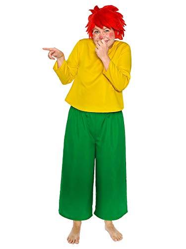 Maskworld Pumuckl Kostüm für Erwachsene - original lizenziert - zweiteilig - Karneval (XL)