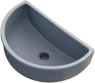 Lavabo de plástico para jardín, sótano, colador de desagüe de plástico
