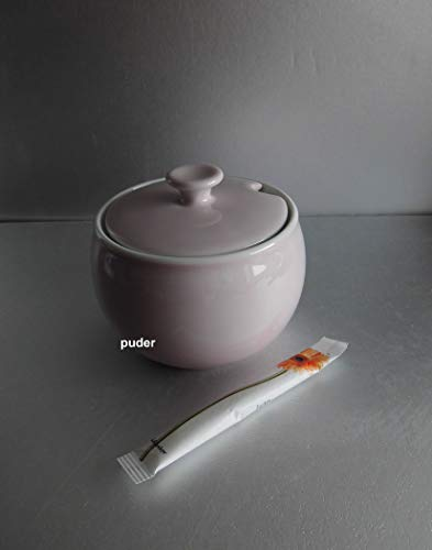 Dibbern Solid Color - Zuckerdose 0,3 l - Puder - NEU