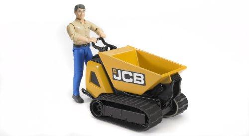 Bruder - 62004 - Miniaturfahrzeug - Mini Dumper JCB HTD-5 mit Charakter - Kipper - Sortiment