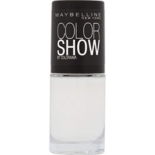 Maybelline New York Color Show Smalto Asciugatura Rapida, 130 Winter Baby