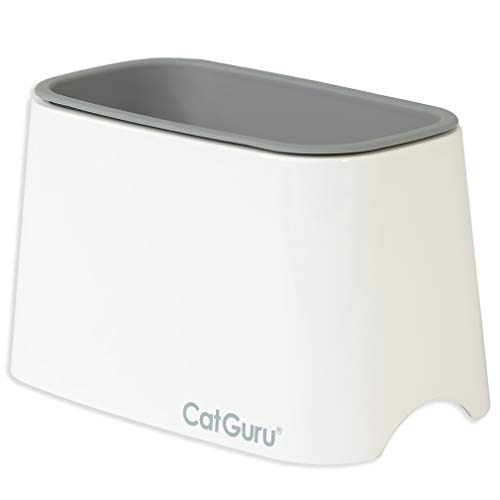 CatGuru Premium Cat Litter Scoop Holder, Scooper Caddy, Scoop Stand Pairs with Any cat Litter Box and fits All cat Litter Scoops