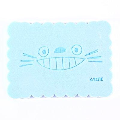XXAICW Clean lavage linge nettoyage face éponge faciales puff-bashing épaissie peau douce beauté rush, Bleu