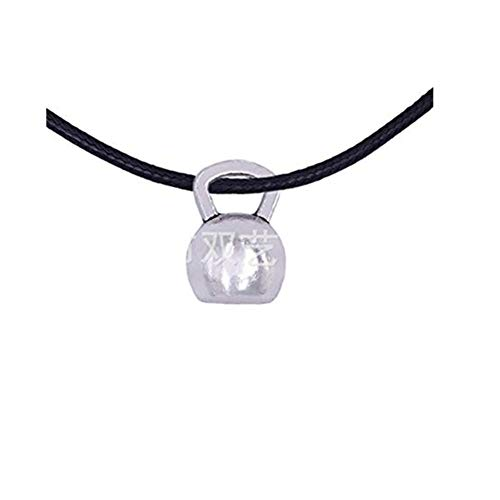 Handmade accessories Collar de pesas rusas, joyería de fitness, collar de ejercicio, collar de entrenamiento, joyería de gimnasio, collar unisex