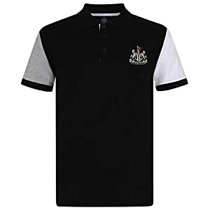 Newcastle United Football Club Official Soccer Gift Mens Crest Polo Shirt