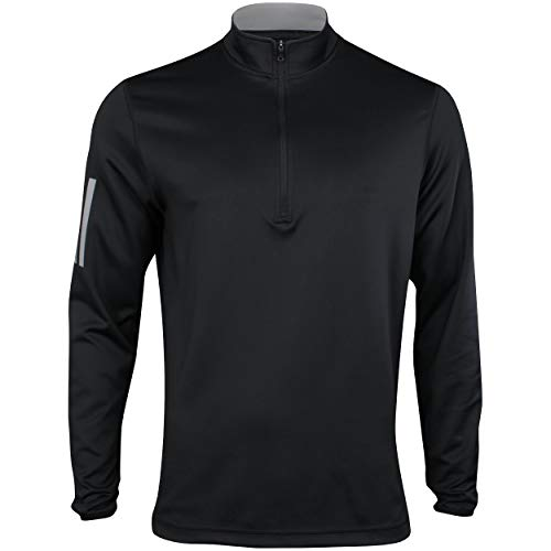 adidas Golf Men's Go-To 1/4 Zip, Legend Earth/ Grey Five, Large