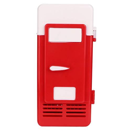 Estink Mini refrigerador, refrigerador portátil para automóvil, extraíble y fácil de Limpiar, Duradero, Adecuado para almacenar Alimentos, Bebidas, etc.(Red)