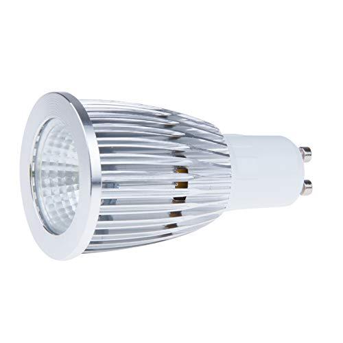 Bulbos de Winbang LED, lámpara del proyector del bulbo de COB blanco fresco GU10 12W