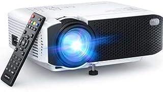 Proyector, APEMAN Mini Proyector Portátil en Casa, Soporte HD 1080P, 5000 Lúmenes, Pantalla Grande, Altavoces Duales, 5000...