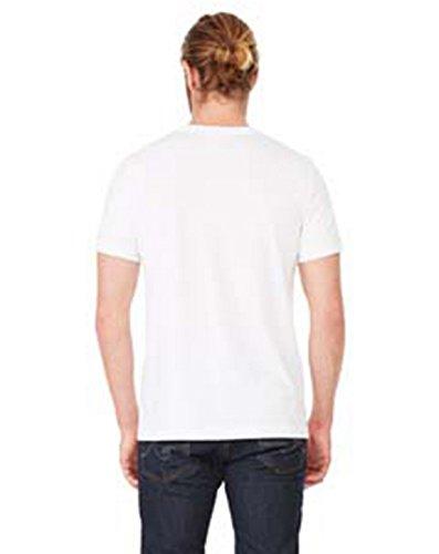 Bella+Canvas Perfect Tri-Blend Fashionable T-Shirt_Medium_Solid White Triblend