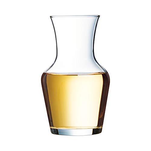 Arcoroc C0198 Carafe vin, 0,25 L, Transparent, Paquet de 12