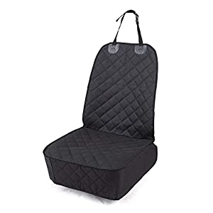 Honest Outfitters Dog Car Seat Cover , Pet Front Cover for Cars, Trucks, and Suv's – Waterproof & Nonslip Dog Seat Cover,(Front Seat)
