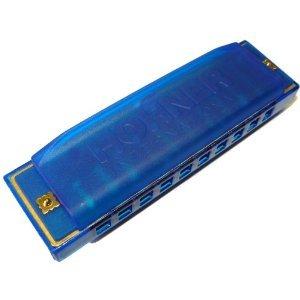 Hohner Happy Mundharmonika in Blau für Kinder