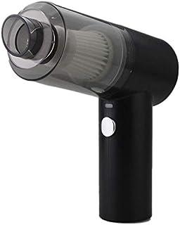 Nrpfell Aspiradora Dom?Stico Secador de Pelo Inal?Mbrico de Alta Potencia 4500Pa Carga USB con Luz LED, Negro