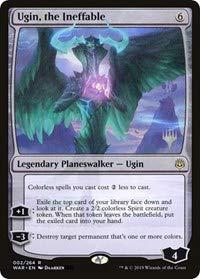 Magic: The Gathering - Ugin, The Ineffable - Promo Pack: Throne of Eldraine