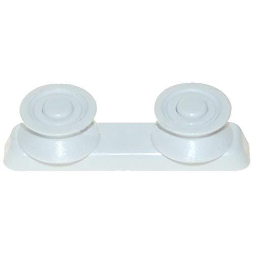 SPARES2GO Soporte para cesta superior compatible con lavavajillas Candy