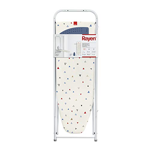 Rayen Tabla de Planchar Abatible, Blanco, 108 x 36 cm