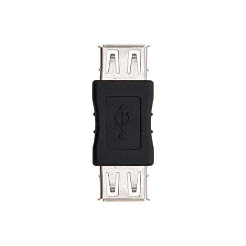 NanoCable 10.02.0001 - Adaptador USB 2.0, tipo A/H-A/H, hemb