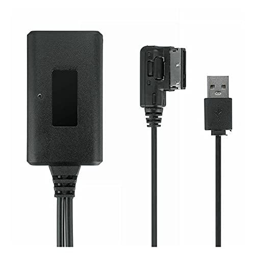 You You Adaptador de Cables de Audio de Bluetooth inalámbrico de 75 cm AUX para Audi Q7 A5 A6 A8