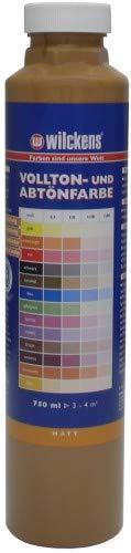 Wilckens Abtoenfarbe - Volltonfarbe / 750 ml/matt - 14 Farben zur Auswahl (Caramel)